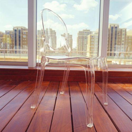 Dizajnerska stolica — POLY OVAL slika 35