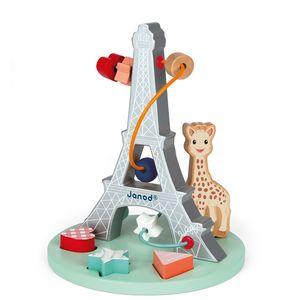 Janod Sophie La Girafe labirint pomoći će vašem djetetu da razvije koncentraciju i motoričke sposobnosti dok se zabavlja.