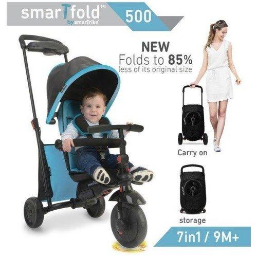 Smart Trike tricikl Folding 500 - Blue slika 2