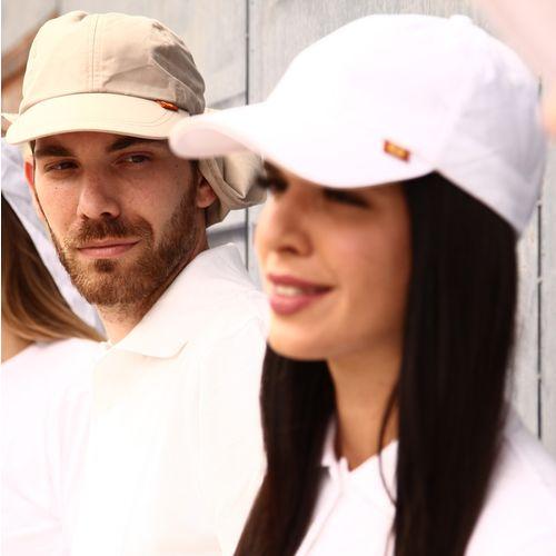 BROKULA SOLEA UV šilt kapa  za odrasle bijela, ONE SIZE slika 4