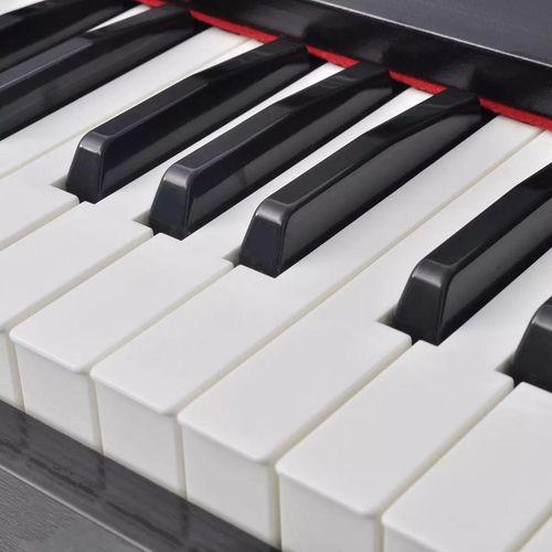Digitalni klavir s pedalama crnom melaminskom pločom i 88 tipki slika 6
