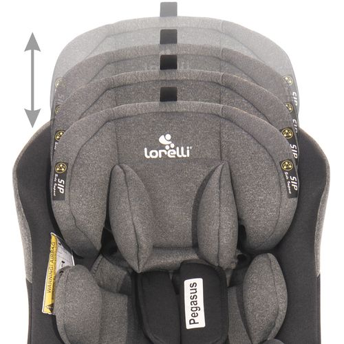 LORELLI PEGASUS Autosjedalica SPS 360° Isofix Violet 0-12 godina/0-36 kg (0+/1/2/3) slika 14