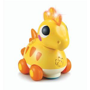 <p><strong>Dali i vaše dijete obožava dinosaure?</strong></p> <p><strong>Dopustite mu da doživi vlastiti mini Jurski park</strong>, s dinosaurom dizajniranim posebno za malu djecu.</p> <p>Kada pomilujete slatkog dinosaura po leđima, počet će se kretati...