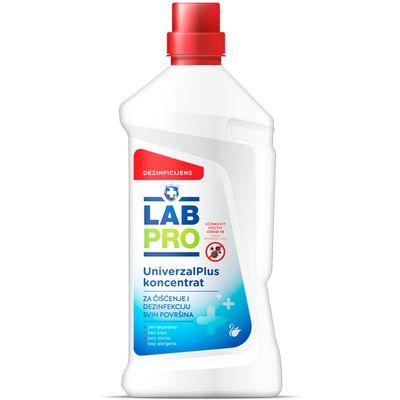 Tekuće, koncentrirano, pH neutralno sredstvo za čišćenje i dezinfekciju svih površina poput podova, vrata, stolaca, kuhinjskog i kupaonskog namještaja.    Bez boje, bez mirisa, bez alergena.    Aktivna tvar: benzalkonijev klorid 5%