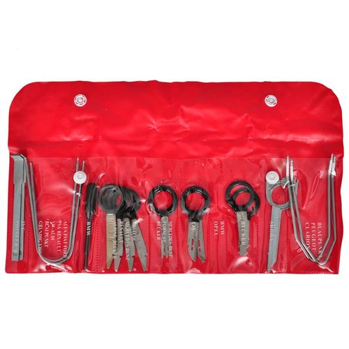 Set alata za vađenje auto radija slika 8
