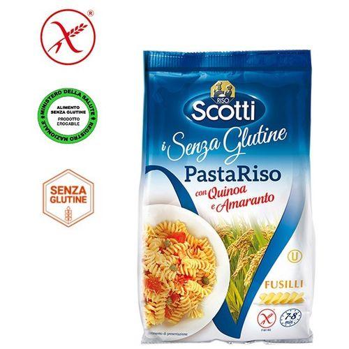 Riso Scotti - Fusilli od rižinog brašna, kvinoje i amaranta - bez glutena 250g slika 1