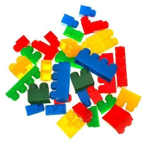 Set 35 raznobojnih kockica (18mj+) slika 3