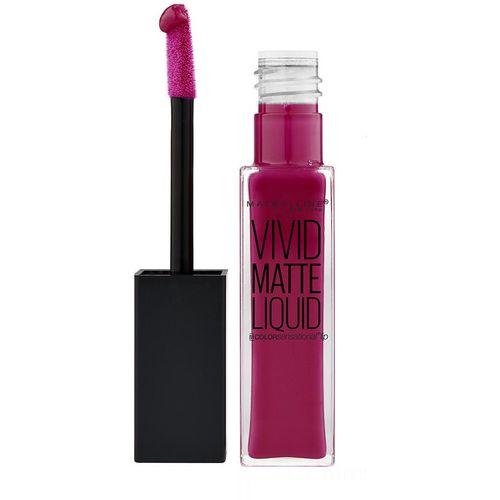 Maybelline New York Color Sensational Vivid Matte Ruž tekući 40 berry slika 1