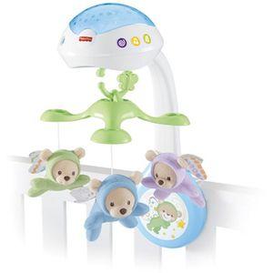 Fisher Price 3u1 projektor pomoći će vam u uspavljivanju vaše bebe. Ovaj prekrasan projektor sadrži tri različite melodije: uspavanku, bijeli šum i zvukove prirode; koje sviraju do 30 minuta i koje će pomoći umiriti svaku bebu. Zvjezdice koje se...