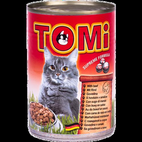 Tomi Hrana za mačke konzerva Govedina 400g slika 1