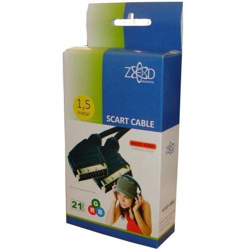 ZED electronic Scart kabel, 21 pinski, oklopljen, 1.5 met - VCS/1,5 slika 3