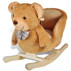 Ova visoko kvalitetna ljuljajuća igračka s prelijepim medvjedićem donijet će bebama utjehu i radost. Ova mekana, plišana ljuljačka bit će sigurno omiljena igračka vaših mališana. Vaša će dječica uživati, satima se ljuljajući na ovoj prekrasnoj...