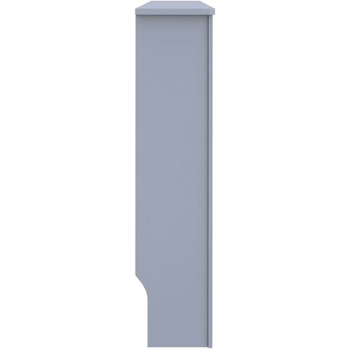 Pokrov za radijator antracit 152 x 19 x 81 cm MDF slika 4