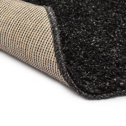 Čupavi ukrasni tepih 160 cm antracit slika 8