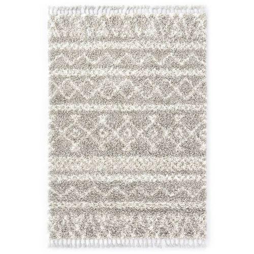 Čupavi berberski tepih PP boja pijeska i bež 160 x 230 cm slika 1