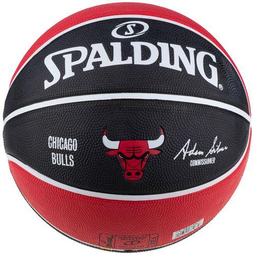 Spalding NBA team Chicago Bulls košarkaška lopta 83583Z slika 1
