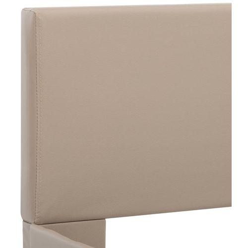 Okvir za krevet od umjetne kože boja cappuccina 120 x 200 cm slika 13