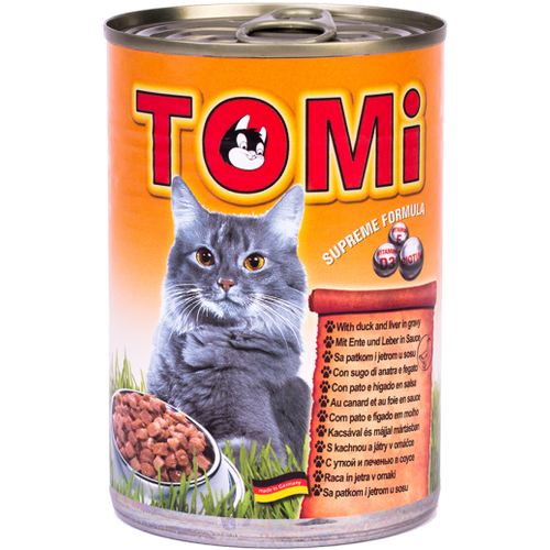 Tomi Hrana za mačke konzerva Perad/Jetra 400g slika 1