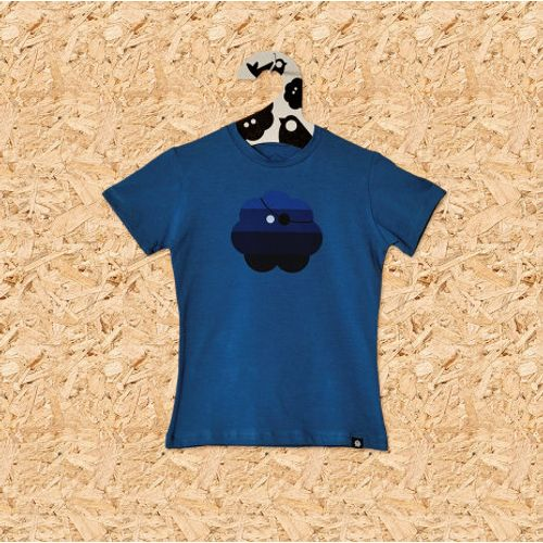 Dječja majica GUSARSKA plava slika 1