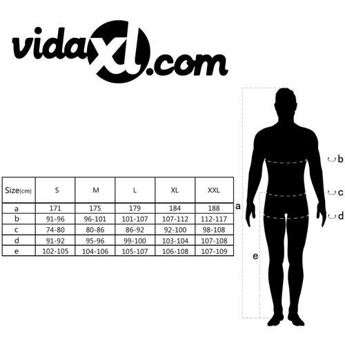 Muški radni kombinezon veličina L sivi slika 12