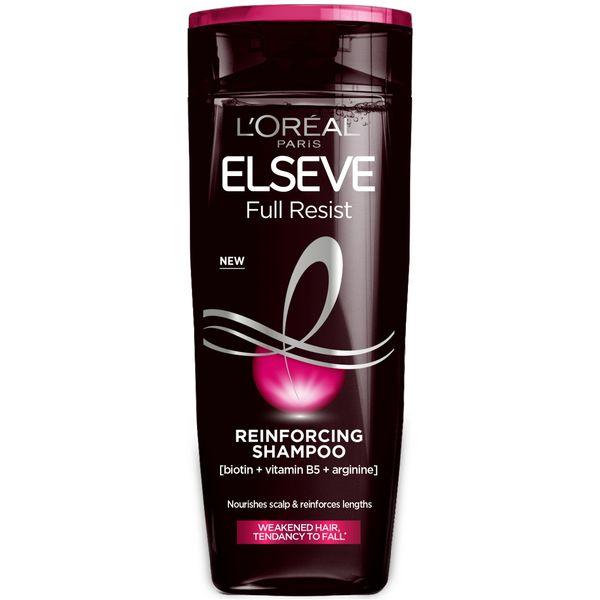 ŠAMPON ZA JAČANJE SLABE KOSE SKLONE LOMLJENJU  Za slabu, tanku i kosu sklonu lomljenju, upotrijebite naš šampon sa formulom obogaćenom suplementi-ma za kosu [biotin + vitamin B5 + arginin]. Iz dana u dan...