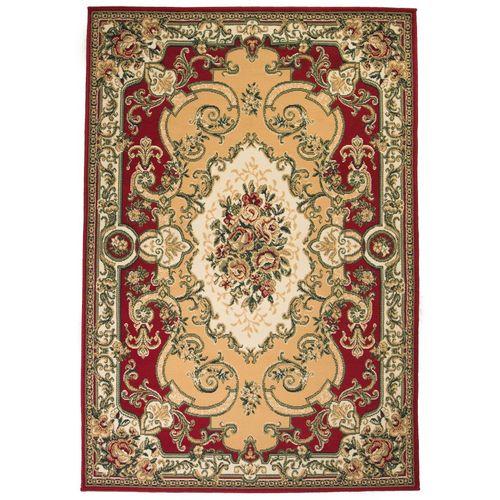 Orijentalni tepih perzijskog dizajna 180 x 280 cm crveni/bež slika 1