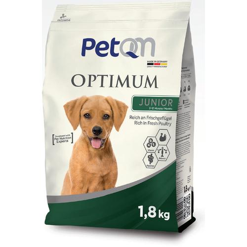 PetQM Dehidrat za pse optimum junior perad 1,8kg slika 1