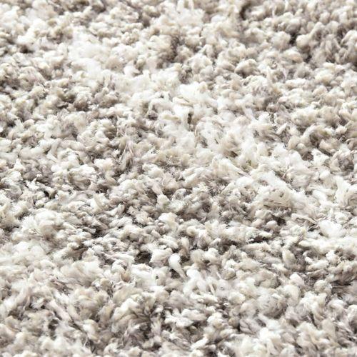 Čupavi berberski tepih PP boja pijeska i bež 160 x 230 cm slika 6
