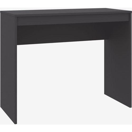Radni stol sivi 90 x 40 x 72 cm od iverice slika 8