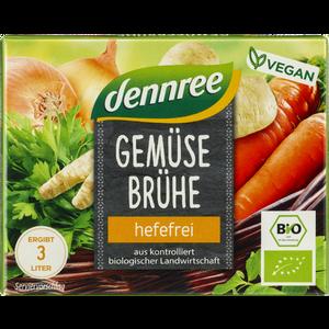 Kocka za juhu bez kvasca s povrćem iz organskog uzgoja