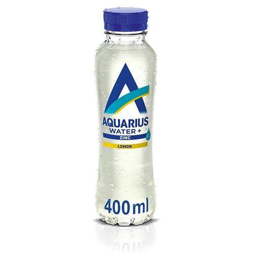 Aquarius Water voda s okusom limuna obogaćena cinkom 400 ml slika 1