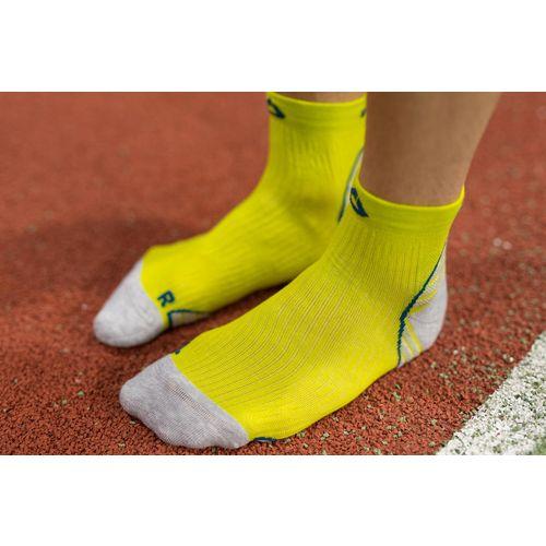 Čarape za trčanje Dogma Speedy Cheetah žuta/siva 40-42 slika 1