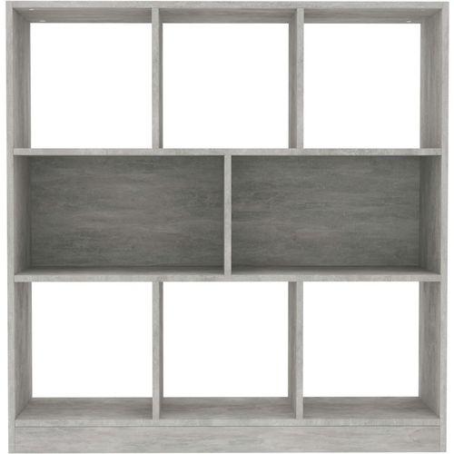 Ormarić za knjige boja betona 97,5 x 29,5 x 100 cm od iverice   slika 10