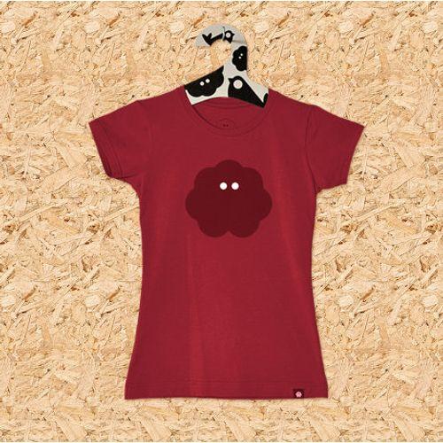 Ženska majica SVAKODNEVKA S POVRĆEM crvena slika 1