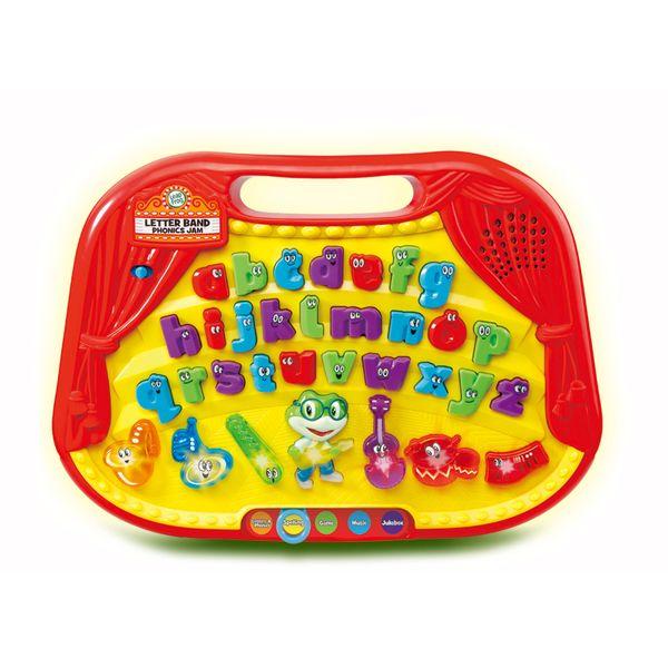 Pridruži se žabici Tadu i njegovim prijateljima dok istražuju slova i glazbu! Pritiskom na jedno od 26 slova (engleska abeceda) svako slovo izgovori svoje ime i pusti različiti zvuk...