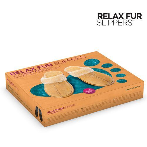 Papuče Relax Fur slika 3