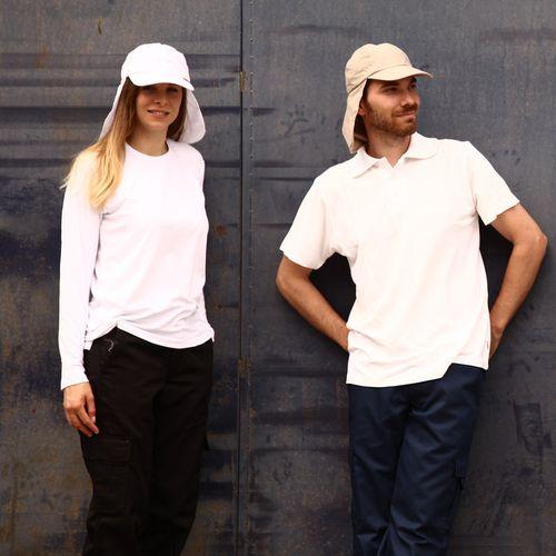 BROKULA SARDA UV kapa sa plaštom na skidanje, bež, ONE SIZE slika 3