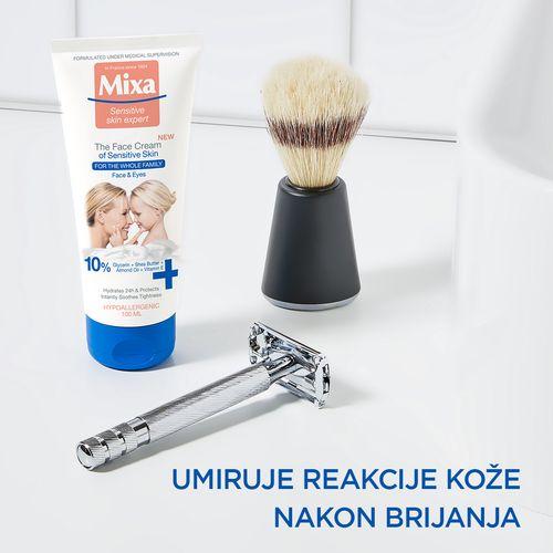 Mixa krema za lice za osjetljivu kožu 100 ml slika 5
