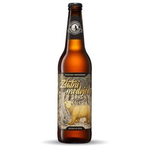 Zlatni Medvjed pivo pilsner 0,5 l slika 1