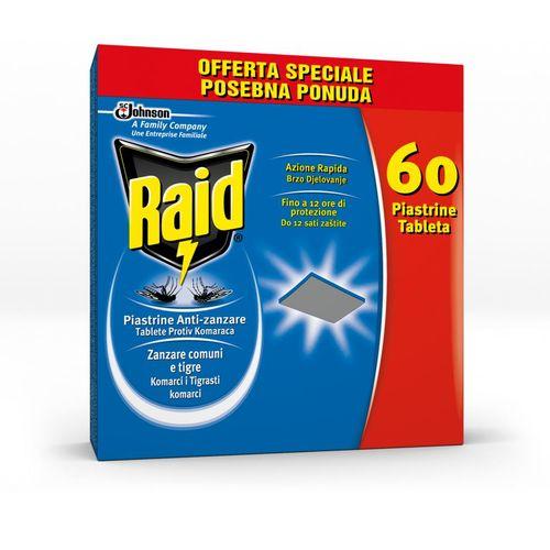 Raid laminirane tablete za električni aparatić promo pack 60 kom slika 1